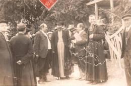 CARTE PHOTO NON IDENTIFIEE REPRESENTANTS DES NOTABLES ET DES RELIGIEUX CIRCULEE 1908 - A Identifier