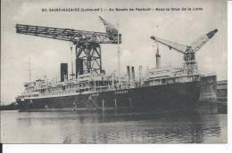 SAINT NAZAIRE - Au Bassin De Penhoët - Sous La Grue De La Loire - Saint Nazaire