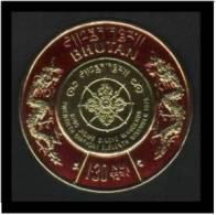 Bhutan (King Jigme - Gold Coil) 1.3nu (Sc # 198) Mint - Bhutan