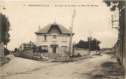 51 HERMONVILLE AVENUE DE LA GARE ET RUE DE REIMS - Francia