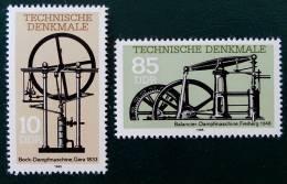 MACHINES A VAPEUR ANCIENNES 1985 - NEUFS ** - YT 2581/82 - MI 2957/58 - Nuovi