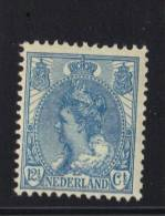 PAYS BAS Y&T N° 54 MH * . (MNT115) - 1891-1948 (Wilhelmine)