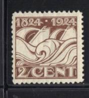 PAYS BAS Y&T N° 157 MH * . (MNT122) - 1891-1948 (Wilhelmine)