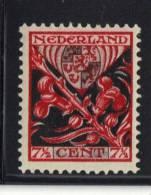 PAYS BAS Y&T N° 197  MH * . (MNT127) - 1891-1948 (Wilhelmine)