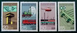 CHEMINS DE FERS 1985 - NEUFS ** - YT 2591/94 - MI 2968/71 - [6] Democratic Republic