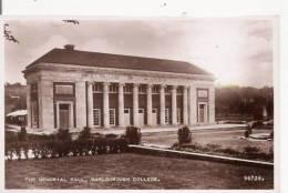THE MEMORIAL HALL MARLBOROUGH COLLEGE  96739 (CARTE PHOTO) - Angleterre