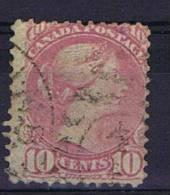 Canada , 1870, Cat Nr  Mi 31,, Used - 1851-1902 Regering Van Victoria