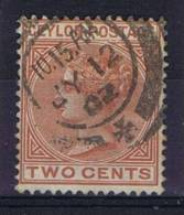 Ceylon 1872, SH 133 Mi 44A, Used - Ceylon (...-1947)