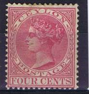 Ceylon 1872, SG 123 Mi 46, MH - Ceylon (...-1947)