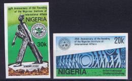 Nigeria, 1986, Mi 497-98  MNH, Imperforated - Nigeria (1961-...)