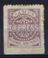 Samoa E.-E Ager Private Issue 1877 Express Stamp Unused