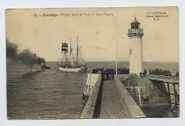 FECAMP : Départ Pour La Pêche à Terre - Neuve - 79 L.J. - Fécamp