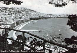 """Bellissima Cartolina Anni 50   """" Napoli - Collina Del Vomero E Via Caracciolo"""" - Napoli"""