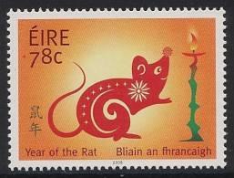 IRLANDE 2008 - Année Du Rat - 1v Neuf // Mnh - Nuovi