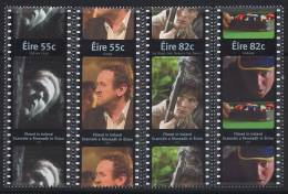 IRLANDE 2008 - Cinema, Filmes Tournés En Irlande - 4v Neuf // Mnh - 1949-... Repubblica D'Irlanda