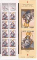 N° 2853A Carnet Au Profit De La Croix Rouge: Saint Nicolas - Markenheftchen
