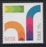 IRLANDE 2008 - 50e Ann ICAD, Institut De Créativité Et Design - 1v Neuf // Mnh - 1949-... Repubblica D'Irlanda