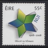 IRLANDE 2008 - NUI, Cent De La Université National Irlandaise - 1v Neuf // Mnh - 1949-... Repubblica D'Irlanda