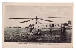 AVIATION/AERODROME DU BOURGET-DUGNY/Autogire De La Cierva/Réf:2808 - Aerodrome