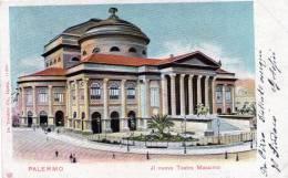 """Cartolina D´epoca   """" Palermo - Il Nuovo Teatro Massimo """" - Palermo"""