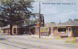 South Carolina Greenwood Greenwood Motor Court Dexter Press - Greenwood