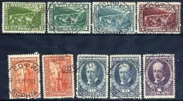 BULGARIA 1921 Bourchier Set  Used.  Michel 167-75 - 1909-45 Kingdom