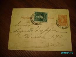 ARGENTINA  VINTAGE  POSTAL STATIONERY  WRAPPER - Argentine