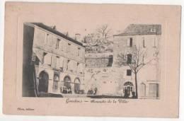 GOURDON - Sommet De La Ville - Francia