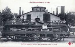 Locomotive à Vapeur Crampton (Service De Voyageurs) - Serie 174 - Eisenbahnen