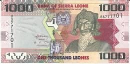 SIERRA LEONE 1.000 LEONES 2010 PICK NEW UNC - Sierra Leona
