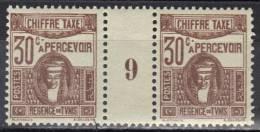 Tunisie Timbres Taxe N° 42 ** Millésime 9 - Tunisie (1888-1955)