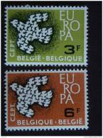België Belgique 1961  Europa-CEPT Yv COB 1193-1194 MNH ** - Belgien