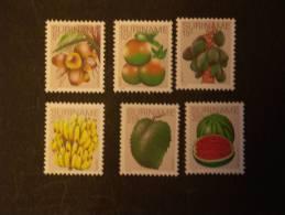 Suriname Surinam 1978 Fruits Fruit Yv 729-734 MNH ** - Fruits