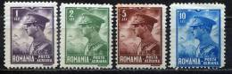 Rumania 1930 Mi. 389-392 , Yvert PA 7-PA 10 , Scott # C13-C16 MH/MNH - Aéreo