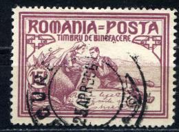 Rumania 1906 Mi. 172 C , Yvert 163 , Scott # B12 Perf. 13½:11½ - Usado