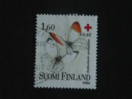 Finland Finlande Suomi 1986 Vlinders Papillons Yv 957 O - Papillons