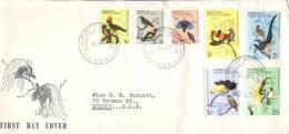 (789) Papua New Guinea First Day Cover - FDC - Premier Jour - 1965 - Birds - Papouasie-Nouvelle-Guinée