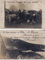 Rare Carte -photo 2 Photos Prise En Avril 1918 En Macédoine - 1914-18