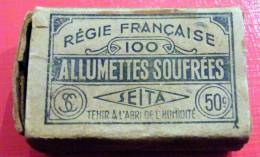 Ancienne Boite D'allumette Vide Seita - Cajas De Cerillas (fósforos)