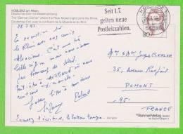 Sur Enveloppe - ALLEMAGNE - 1 Timbre - [7] République Fédérale