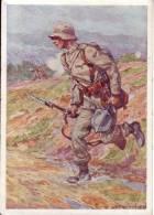 Österreichisches Bundesheer, 2. Infanterie  -  Nach Einem Aquarell Von L. Koch - Guerre 1914-18