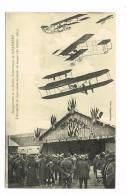 CHAMBERY - CPA - INAUGURATION DE LA STATION D´ ATTERRISSAGE - L´ ESCADRILLE DE LYON (26 OCTOBRE 1913) - AVIONS