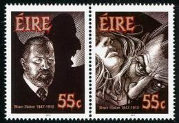 IRLANDE 2012 - Cent De La Mort De Bram Stoker, Créateur De Dracula - 2v Neuf // Mnh - Neufs