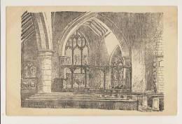St Peter And St Paul, Chaldon - Artist Drawn - Surrey