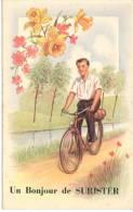 SURISTER (4845) Un Bonjour De - Jalhay