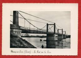 * MEUNG Sur LOIRE-Le Pont Sur La Loire(Pêcheur à La Ligne) - Unclassified