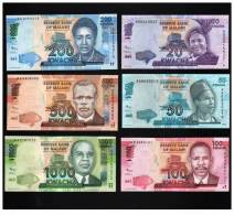MALAWI  SET COMPLETO  6  BILLETES /BANKNOTES  2.012  2012 SC/UNC/PLANCHA  T-10.125 - Malawi