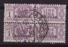 Ital. Eritrea, Paketmarke, MiNr. 27 Gestempeltes Paar (b101005) - Eritrea