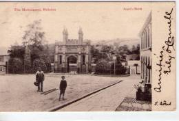 Angleterre..Helston..animée..the Monument..Carte RARE - Angleterre