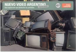 NUEVO VIDEO ARGENTINO UNA EXPOSICION QUE DESBORDA LAS PANTALLAS NVA SEGUNDA EDICION ITAU CULTURAL BANCO ITAU BUEN AYRE - Banken